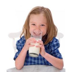 Los niños, la leche y los lácteos