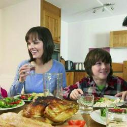 Ventajas de comer en familia