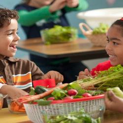 Los niños y adolescentes con hábitos de vida saludables siguen un patrón de dieta más cercano al mediterráneo
