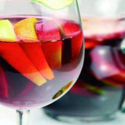 La sangría, limonada de vino