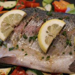 La trucha, un pescado azul rico en omega 3