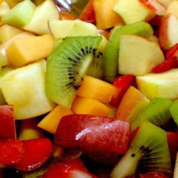 La macedonia de frutas, el postre perfecto