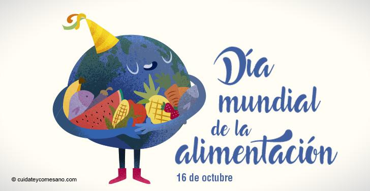 Cuidate Y Come Sano Dia Mundial De La Alimentacion