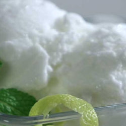 El sorbete, el helado con menos calorías